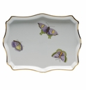 "Herend Royal Garden Small Tray 7.5""L X 5.5""W"