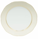 """Herend Silk Ribbon Beige Band Charger 12""""D - Beige"""