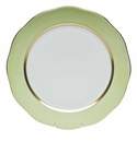 """Herend Silk Ribbon Charger 12""""D - Lime"""