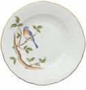 Herend Song Bird Dessert Plate - Bluebird 8.25""