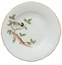 Herend Song Bird Dessert Plate - Chickadee 8.25