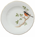 "Herend Song Bird Dessert Plate - Robin 8.25""D"