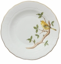 "Herend Song Bird Dessert Plate - Warbler 8.25""D"