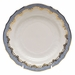 "Herend White With Blue Border Bread & Butter Plate 6""D"