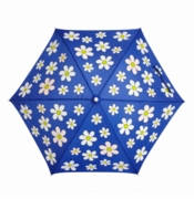 Holly & Beau Kid's Umbrella Dark Blue Flower