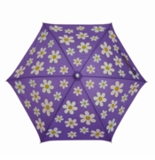 Holly & Beau Kid's Umbrella Flower Purple