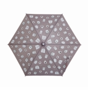 Holly & Beau Kid's Umbrella Monster Grey