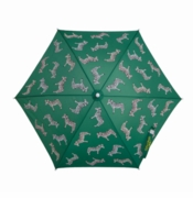 Holly & Beau Kid's Umbrella Zebra Green