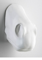 Horse Nose Plaster White Wall Decor by Cyan Design