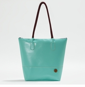 IF Aqua Women's Tote Bag - Made in Italy, Vegan Leather