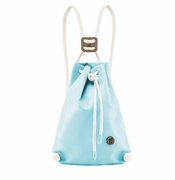 IF Light Blue Mini Backpack - Made in Italy