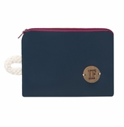 IF Navy Pocketbook - Made in Italy