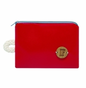 IF Red Pocketbook - Made in Italy