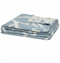 in2green Coral Blue Pond/Milk Reversible Throw