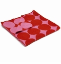 in2green Dots Spice/Princess Reversible Baby Blanket