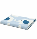 in2green Elephant All Over Blue Baby Blanket