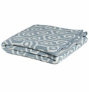 in2green Geo Blue Pond Baby Blanket