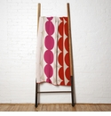 in2green Throws Circles Spice/Fuchsia/Flax Throw