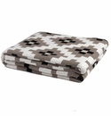 in2green Throws Dot Matrix Milk/Hemp/Black Throw