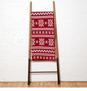 in2green Throws Fair Isle Pomegranate Throw