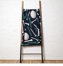 in2green Throws Golf Tees Marine/Kelly/Aluminum Throw