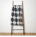 in2green Throws Helix Blue Pond/Smoke/Black Throw