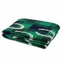 in2green Throws Horse Shoe Emerald/Hunter/Marine/Flax Throw