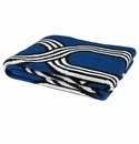 in2green Throws Loopy Cobalt Throw