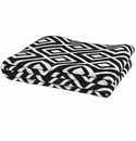 in2green Throws Mod Square Black Throw