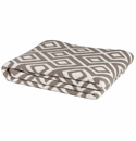 in2green Throws Mod Square Khaki Throw