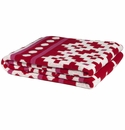 in2green Throws Mosaics Cherry/Fuchsia Throw