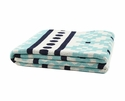 in2green Throws Mosaics Seafoam/Marine Throw