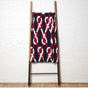in2green Throws Sailor Knot Cherry/Marine Throw