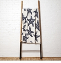 in2green Throws Sea Star Milk/Slate Throw