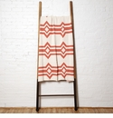 in2green Throws Serape Milk/Coral Throw