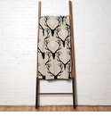 in2green Throws Stag Longhorn Flax/Black Throw