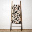 in2green Throws The Hunt Flax/Black/Spice Throw
