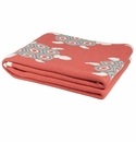 in2green Throws Turtles Coral/Seafoam Throw