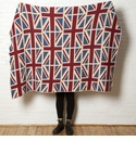 in2green Throws Vintage Union Jack Throw