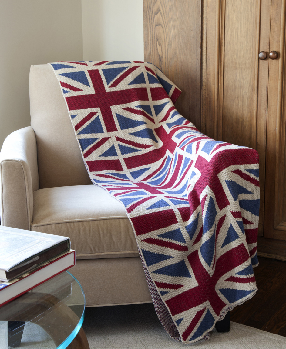In2green throws vintage union jack throw for Decoration murale union jack