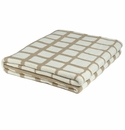 in2green Waterline Camel/Ivory Indoor/Outdoor Throw