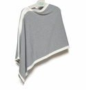 in2green Wrap Poncho Aluminum with Milk Trim