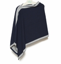 in2green Wrap Poncho Marine with Aluminum Trim