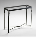Infinity Iron Console Table by Cyan Design