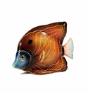 Intrada Italy Blue & Yellow Fish Figurine