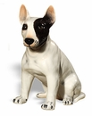 Intrada Italy Bull Terrier Dog Statue
