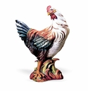 "Intrada Italy Campagna 20.5"" Colored Hen Figurine"