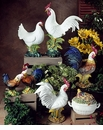 Intrada Italy Campagna Rooster Cruet