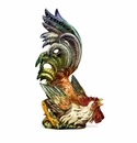 Intrada Italy Cesare Rooster Looking Up Statue
