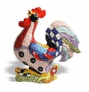 "Intrada Italy Fantasia Rooster 13.5""H x 12.5""L"